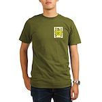 Grille Organic Men's T-Shirt (dark)