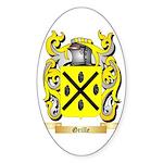 Grille Sticker (Oval 10 pk)