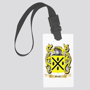 Grille Large Luggage Tag