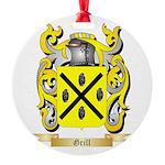 Grill Round Ornament