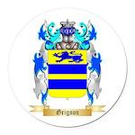 Grigson Round Car Magnet