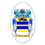 Grigorian Sticker (Oval)