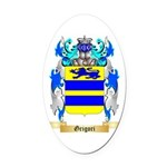 Grigori Oval Car Magnet