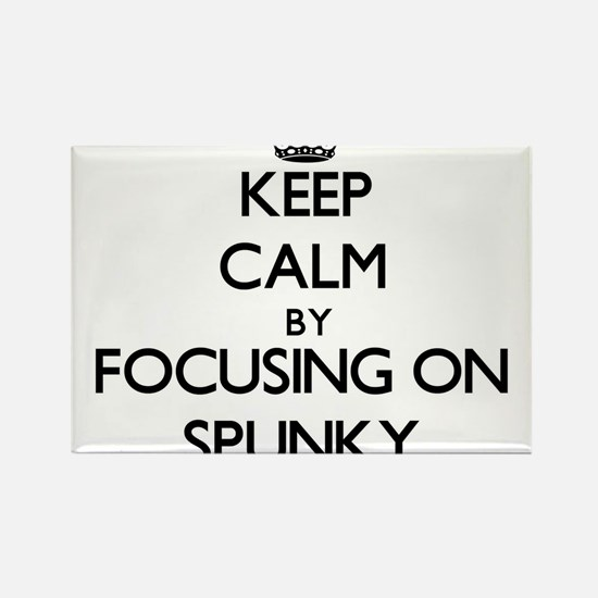 Keep Calm by focusing on Spunky Magnets
