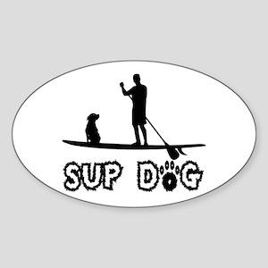 SUP Dog-Dude Sticker
