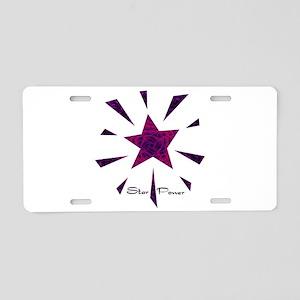 Star Power - Deep Aluminum License Plate