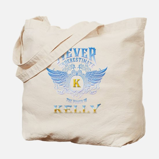 Never underestimate the power of Kelly Tote Bag