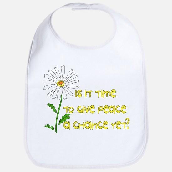 Give Peace A Chance Bib