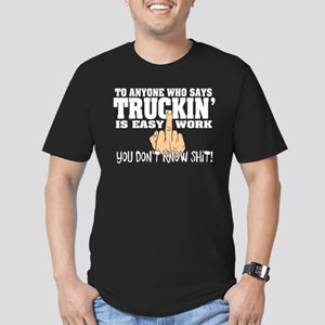 Trucking Middle Finger T-Shirt