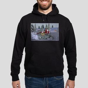 Dashing Through The Snow Hoodie