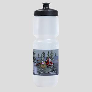 Dashing Through The Snow Sports Bottle