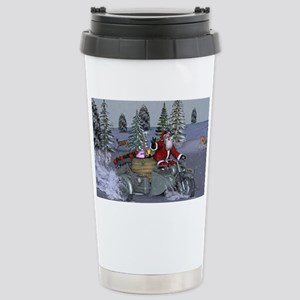 Dashing Through The Snow Travel Mug