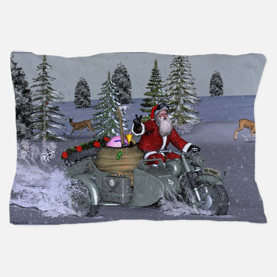 Dashing Through The Snow Pillow Case