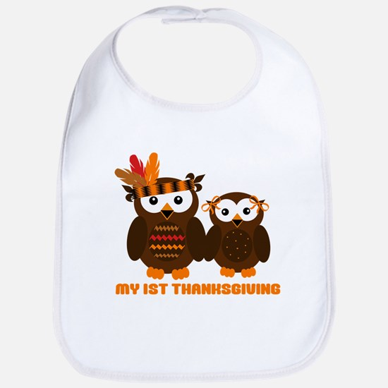 My 1st Thanksgiving Bib