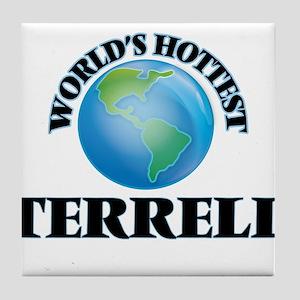 World's hottest Terrell Tile Coaster