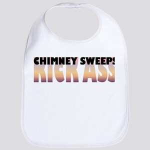 Chimney Sweeps Kick Ass Bib