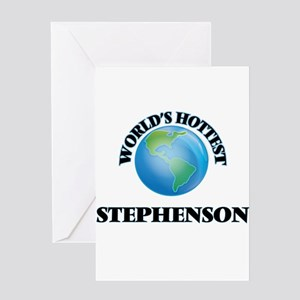 World's hottest Stephenson Greeting Cards