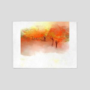 Unbelievable Autumn Landscape 5'x7'Area Rug