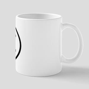 BII Oval Mug