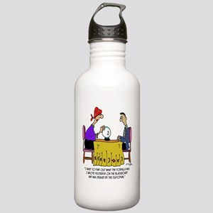 Math Cartoon 6487 Stainless Water Bottle 1.0L