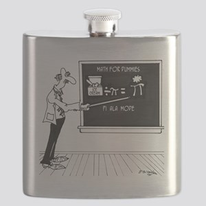 Math Cartoon 5850 Flask