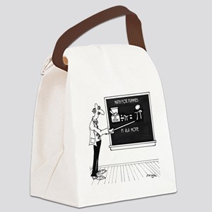 Math Cartoon 5850 Canvas Lunch Bag
