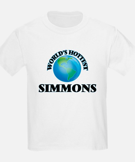 World's hottest Simmons T-Shirt