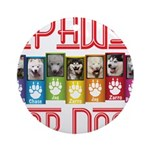 iPaws for Dogs Ornament (Round)