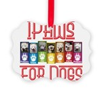 iPaws for Dogs Ornament