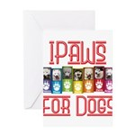 iPaws for Dogs Greeting Cards