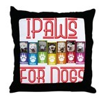 iPaws for Dogs Throw Pillow