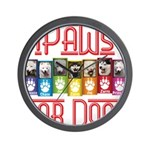 iPaws for Dogs Wall Clock