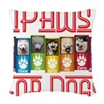 iPaws for Dogs Woven Throw Pillow