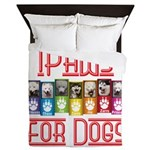 iPaws for Dogs Queen Duvet