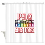 iPaws for Dogs Shower Curtain