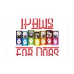 iPaws for Dogs Wall Decal