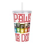 iPaws for Dogs Acrylic Double-wall Tumbler