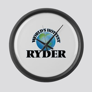 World's hottest Ryder Large Wall Clock
