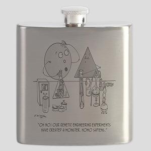 Genetics Cartoon 0313 Flask