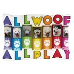 All WOOF All PLAY Pillow Case