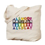 All WOOF All PLAY Tote Bag