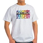 All WOOF All PLAY T-Shirt