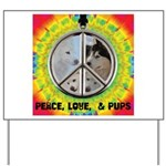 Peace Puppies 3.10.2014 Yard Sign