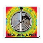 Peace Puppies 3.10.2014 Mousepad