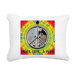 Peace Puppies 3.10.2014 Rectangular Canvas Pillow