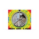 Peace Puppies 3.10.2014 Wall Decal
