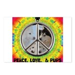 Peace Puppies 3.10.2014 Postcards (Package of 8)