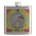 Peace Puppies 3.10.2014 Flask