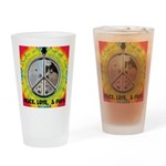 Peace Puppies 3.10.2014 Drinking Glass