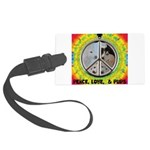Peace Puppies 3.10.2014 Luggage Tag